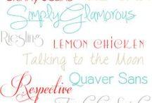 Fonts / by Dwayne Hays