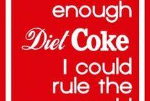 coke & diet coke / by Janet Shoemake