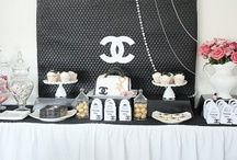 CHANEL THEMED 21ST BIRTHDAY PARTY / My sister Cassie's 21st Birthday! :-) #chanel #coco #cocochanel #chanelparty #chanelinspiredparty