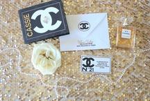 COCO CHANEL INSPIRED INVITATION SUITE / #chanel #cocochanel #pearls #chanelinvitation #invitations