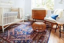 Nursery Style - Mid-Century Modern / Seeing if a mid-century modern look would work for a baby's room / by Andrea Albersheim
