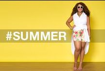 Summer by Ashley Stewart / Now You Sea Me | Ashley Stewart Swim Collection 2015 / by Ashley Stewart