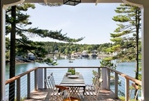 Cabin/Beach/Lake House / by Lindsey Miles