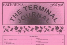 """The Terminal Journal 1993-2001 / From 1993 through 2001, I published a """"literary journal"""" as part of Eschaton Productions. It started small, grew bigger, got political, and died just ahead of the publishing company itself. There was a lot of good stuff in there over the years, and represents a ton of work. I'm scanning these in as I can, but they'll all be up here eventually, keep checking back!"""