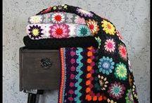 crochet blankets & housey things