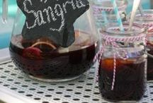 Beverages ~ Champagne, Wine & Sangria