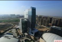 Orris Infrastructure Floreal Towers / Floreal Towers - An epitome of state of the art architecture and technology.  Floreal Towers is a pioneering green project form the house of Orris located in New Gurgaon.