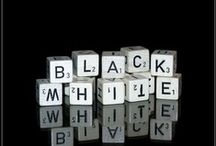 Black and White / by Allison Wofford