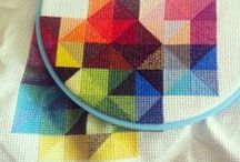Crafty: Cross Stitch and Embroidery / Cross stitch, embroidery, and other needle crafts.  / by Pamela S