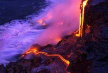 Volcanic / Volcanoes. / by Pamela S