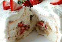 Cakes ~ Angel Food