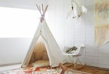 Kids' Bedroom Ideas / Here are some great ideas for decorating healthy, non-toxic children's rooms. I've created eco-friendly children's spaces that don't sacrifice style for a healthy environment. Enjoy!