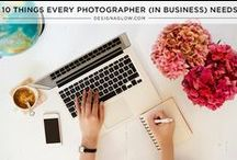 Photography | Business / Tips for running your own photography business.