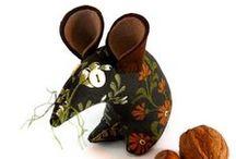 handmade toys & creatures