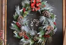 Winter Cheer / Christmas and winter holiday inspiration.