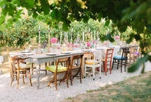 Perfect wedding Tables / by Chic Weddings