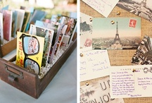 Unique wedding book tables  / by Chic Weddings