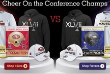 Super Bowl XLVII / FansEdge.com is the #1 source for Baltimore Ravens Super Bowl championship apparel and team merchandise, including Ravens Locker Room t-shirts, Championship Hats, hoodies, and everything else to celebrate your Super Bowl Champion Baltimore Ravens! / by FansEdge