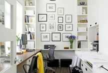 Home Headquarters / Office space ideas for my home. / by Heather Miller