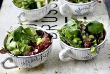 My ... salads / Cooking ideas, eating healthy / by Maria Mamouzelou