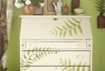 Hand Painted or Decoupaged / any surface will do / by Deborah Fortino