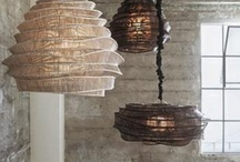 Unique Lighting / lighting is an essential part of designing a space. Get creative!! / by Deborah Fortino
