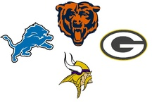 NFC North Corner - For Bears, Lions, Packers and Vikings Fans Only / The NFC North (also known as the NFL Norris division) is the home to some of the oldest, and most historically successful franchises in all of football.  From George Halas' Chicago Bears to the Green Bay Packers of Vince Lombardi, the Bears and Packers have the longest rivalry in the NFL.  Add the Minnesota Vikings and Detroit Lions to the mix and there is no love lost between any of the four teams.  FansEdge is fully stocked up on all of the NFL North apparel! http://bit.ly/O1OscS