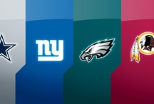 NFC East Corner - For Cowboys, Eagles, Giants, & Redskins Fans Only / With all of the Super Bowl Championships from the NFC East, you would think all these fans could get along.  Instead, all of the success of the Dallas Cowboys, Philadelphia Eagles, New York Giants and Washington Redskins have fueled some of the most intense and heated rivalries in the NFL.  From Roger Staubach and Joe Thiesmann to Michael Vick and RG3, FansEdge is fully stocked up on all of the NFL East apparel! http://www.fansedge.com/NFL-Merchandise-_-131222321_HM.html?social=pinterest_nfceast / by FansEdge