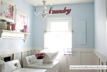 Laundry Rooms / by Stephanie Hinton DuCharme