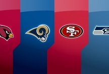 NFC West Corner - For 49ers, Cardinals, Rams and Seahawks Fans Only / by FansEdge