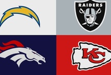AFC West Corner - For Broncos, Chargers, Chiefs and Raiders Fans Only / by FansEdge