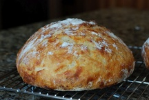 Eating- Breads / Warm bread, right out of the oven. Nothing better. / by Deborah Fortino