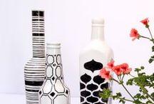 Flaschendeko / Bottle decor