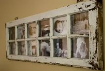 Vintage window / Ötletek egy régi ablak felújításához, dekorációjához