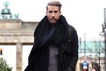 scarf style - men