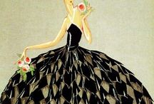 Fashion illustration / Illustrations