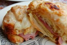 Eating-pizza and sandwiches / by Deborah Fortino