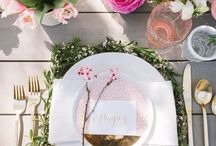 Table Decor | Tablescapes | Table Settings / A collection of stories told by beautifullly styled tablescapes that will make you want to get married all over again. An inspiration board for all table settings decor, from wedding table decor to your next dinner party or Sunday brunch.