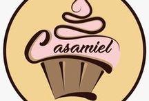 """Casamiel Pasteleria / Tortas tematicas y cupcakes para toda ocasión           """"Felicidad en un dulce detalle"""""""