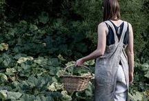 Gardening Clothes / Gardening clothes, garden style, and gardener's fashion inspiration that's useful, but also pretty :)