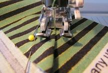 Sew, a needle pulling thread... / by Melissa Mead