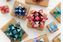 Gift Ideas / Gift Ideas and Gift Wrapping Inspirations  / by Abby Lauren