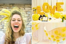 Bodas en amarillo - Yellow weddings