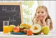 Healthy Snacks for Kids / Healthy eating habits begin to form at a young age. We want to help you encourage your kids to eat the best possible foods for their development. What's one tried and true way to do that? Make it fun!  / by o2living | Community for Healthy Living