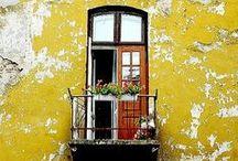 Door . Window . Balcony  .Path