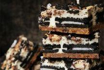 Brownie . Bar . Cream . Cheese