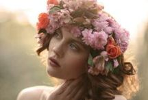 Flowers and headpieces