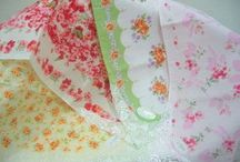 Lovely Old Hankies / Vintage and Historical Handkerchiefs-embroidered, patterned, and crocheted.