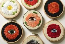 Embroidery Art / Original Embroidery Art and Beautiful Embroidered Textiles