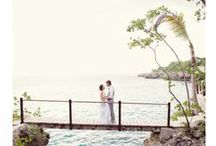 Le Destination Wedding / It doesn't matter where you are going, it's who you have beside you.
